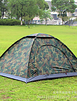 2 persons Single One Room Camping TentHiking Camping Traveling-Camouflage