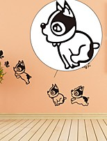 Animales Día Festivo Ocio Pegatinas de pared Calcomanías de Aviones para Pared Calcomanías Decorativas de Pared,Papel MaterialDecoración