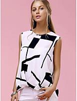 Spot 2017 novos modelos de comércio exterior ebay aliexpress explosão na Europa e américa loose sleeveless dovetail t-shirt impressão