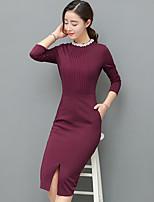 Signe 2017 nouvelle robe de grande taille