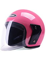 YEMA 607 Motorcycle Helmet Summer ABS Anti-UV Half Helmet For 54-61cm with Anti-Fog Lens