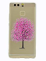 Pour Etuis coque Transparente Motif Coque Arrière Coque Arbre Flexible PUT pour HuaweiHuawei P10 Plus Huawei P10 Lite Huawei P10 Huawei