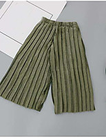 Girls' Casual/Daily Solid Pants Summer Spring