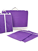 Luggage Organizer / Packing Organizer Foldable Portable for Travel StoragePurple