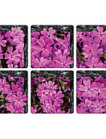 The Pink Flower 3D Bathroom Non-Slip Stickers The Floor Tile Individuality Decorative Stickers