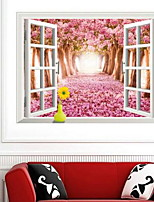 Landschaft Wand-Sticker 3D Wand Sticker Dekorative Wand Sticker,Vinyl Stoff Haus Dekoration Wandtattoo