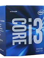 Intel 3.70 ghz core i3-6100 3m processeur de cache