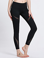 Women's Running Tights Breathable Anti-Eradiation Sweat-wicking Compression Spring Summer Yoga Running Terylene TightPerformance