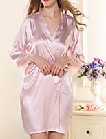 Dámské Ultra sexy Noční prádlo Jednobarevné-Polyester Střední Dámské