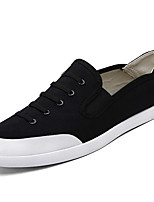 Men's Shoes Canvas Outdoor / Athletic / Casual Sneaker Flat Heel Chuck Taylor All Star Core Black/Green