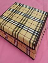 קופסאות אחסון יחידות אחסון לא ארוג עםמאפיין הוא עם מכסה , ל תחתונים