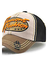 Children's Tide Cool Cowboy Splicing Cotton Embroidery Letters In Europe  The  Baseball Cap