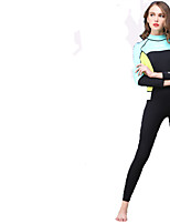HISEA® Women's Wetsuits Anti-Eradiation Neoprene Diving Suit Long Sleeve Diving Suits-Swimming Diving Surfing SailingSpring Summer