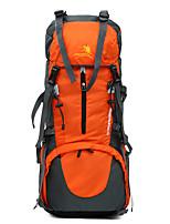 65 L Randonnée pack sac à dos Camping & Randonnée Escalade Multifonctionnel Autres