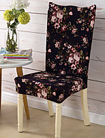 Form Fit Country Chair Cover , Polyester Fabric Type Slipcovers