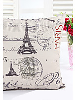 1 pcs Linen Pillow Cover Pillow Case,Novelty Graphic Prints Country Others