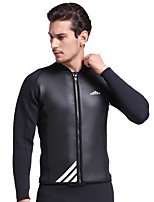Men's 2mm Wetsuits Insulated Neoprene Diving Suit Long Sleeve Diving Suits-Swimming Diving Spring Summer Fall/Autumn Winter Classic