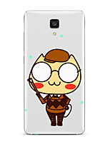 Para Transparente Estampada Capinha Capa Traseira Capinha Desenho Macia TPU para XiaomiXiaomi Mi 5 Xiaomi Mi 4 Xiaomi Mi 5s Xiaomi Mi 5s