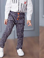 Boys' Casual/Daily Striped Pants Spring Fall