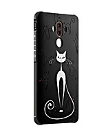 For Huawei Mate 9 Mate 9 Pro Case Cover Shockproof Frosted Embossed Pattern Back Cover Cartoon Soft Silicone Honor 6X Mate 8 Mate 7 Nova