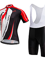 AOZHIDIAN Summer Cycling Jersey Short Sleeves BIB Shorts Ropa Ciclismo Cycling Clothing Suits #AZD129