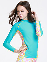 Sports Women's Wetsuit Top Breathable Quick Dry Anatomic Design Neoprene Diving Suit Long Sleeve Tops-Diving Spring Summer Fashion