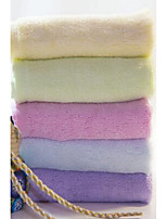Hand TowelSolid High Quality 100% Bamboo Fiber Towel Random Color
