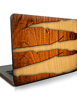 For MacBook Air 11 13/Pro13 15/Pro with Retina13 15/MacBook12 Wood Grain Cracks Described Apple Laptop Case
