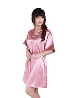 Lingerie en Dentelle Vêtement de nuit Femme Couleur Pleine-Mince Fibre de Bambou Aux femmes