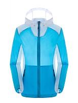 Femme Hauts/Tops Camping / Randonnée Respirable Garder au chaud Printemps Eté Automne Jaune Blanc Rose dragée Bleu lagune
