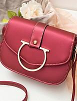 Для женщин Полиуретан На каждый день Для праздника / вечеринки Для отдыха на природе Сумка для ручной клади Зеленый Черный Красный Розовый