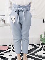 Girls' Casual/Daily Solid Pants Summer