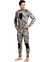 Муж. 3mm Гидрокостюмы Изолированный Неопрен Водолазный костюм Длинные рукава Гидрокостюмы-Плавание Дайвинг Весна Лето Осень Зима Мода