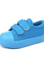 Girls' Sneakers Spring Fall Comfort Canvas Outdoor Casual Flat Heel Hook & Loop Walking