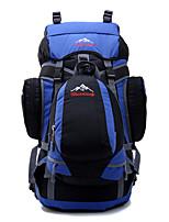 55 L Paquetes de Mochilas de Camping mochila Acampada y Senderismo Escalar Multifuncional Otros