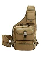 11 L Tourenrucksäcke/Rucksack Camping & Wandern Jagd Draußen tragbar Braun Oxford