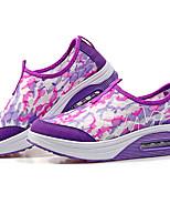 Women's Sneakers Summer Comfort Light Soles Tulle Casual Wedge Heel
