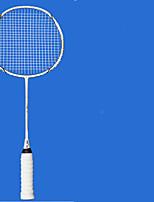 Badmintonschläger Verschleißfest Dauerhaft Stabilität Kohlefaser Ein Paar × 2 für Draußen Leistung Training Legere Sport
