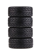 4Pcs/Set 1/10 Grain Drift Car Tires Plastic Hard Tyre for Traxxas HSP Tamiya HPI Kyosho RC Car Part