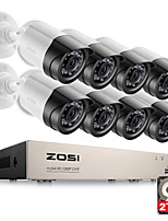 ZOSI® HD-TVI 8CH 1080P 2.0MP Security Cameras System 8*1080P 2000TVL Day Night Vision CCTV Home Security 2TB HDD