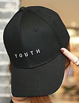 Men Women 's Summer Cotton Letter Embroidery Street Hip Hop Flat Sun Casual Baseball Hats