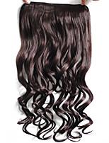 Com Presilha Sintético Extensões de cabelo 50 Alongamento
