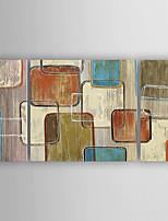 Pintados à mão Abstrato Horizontal,Moderno 3 Painéis Tela Pintura a Óleo For Decoração para casa