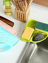 Кухонная раковина многофункциональный стойка губка падение чашка кисти различные получить пластиковые полки цвет случайный