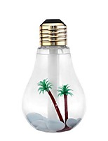 lâmpadas antigas umidificador colorido luz da noite levou pulverizar usb hidratante mini-lar mesa umidificador