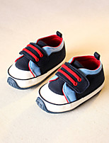 Kids' Baby Loafers & Slip-Ons First Walkers Canvas Spring Fall Casual First Walkers Flat Heel Gray Blue 1in-1 3/4in