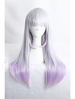 perruque filles mélangé moyennes longues de couleur droite 24inch synthétique anime cs-283a lolita