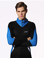 HISEA® Men's Wetsuits Breathable Quick Dry Anti-Eradiation Diving Suit Long Sleeve Diving Suits-Diving Spring Summer Fall/AutumnClassic