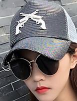 Leisure Lladies Outdoor  Mesh Patchwork Beach Floppy Hat Sun Hat Baseball Cap