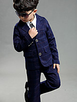 Boys' Going out Casual/Daily Formal Geometric Sets,Cotton Spring Clothing Set